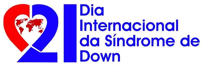 logo do dia internacional da síndrome de Down