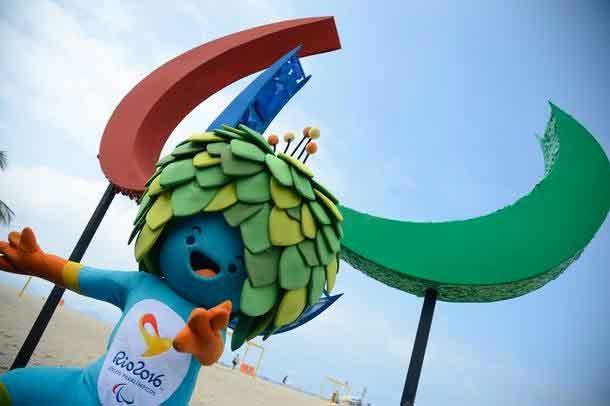Mascote Olimpíadas 2016 no Rio de Janeiro.