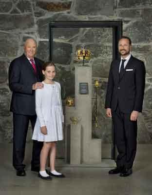 Família real da Noruega.