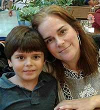 Eliane Cunha, voluntária do movimento Paratodos