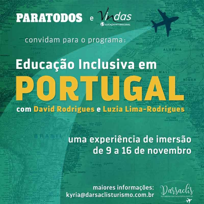 convite Educação inclusiva em Portugal