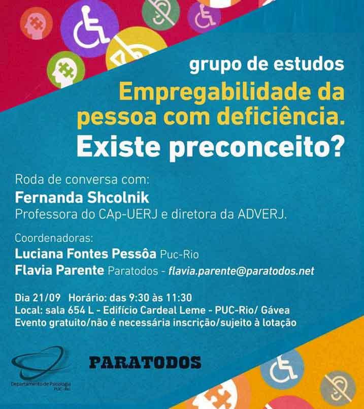 Flyer de divulgação de evento